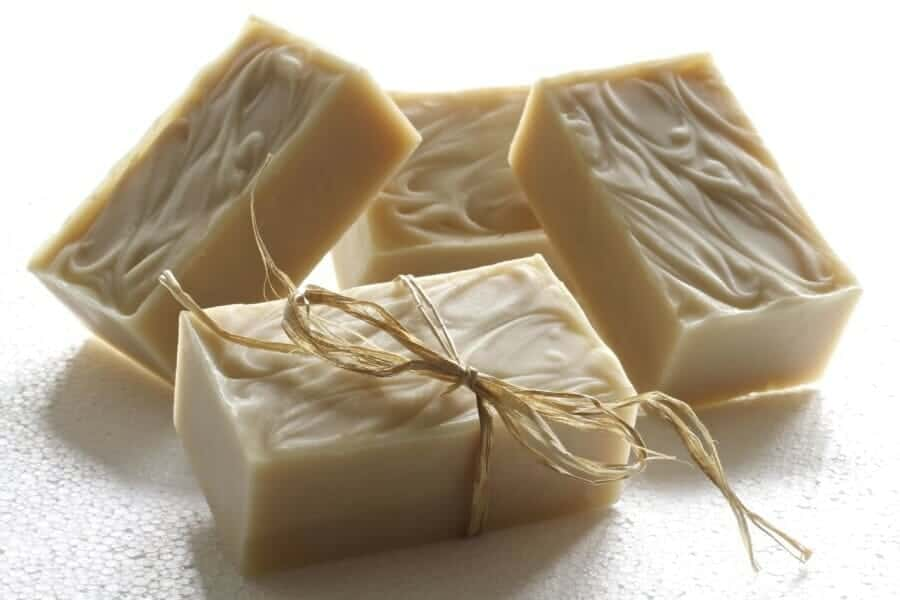 Handmade Goats Milk Soap, made with care by my mum