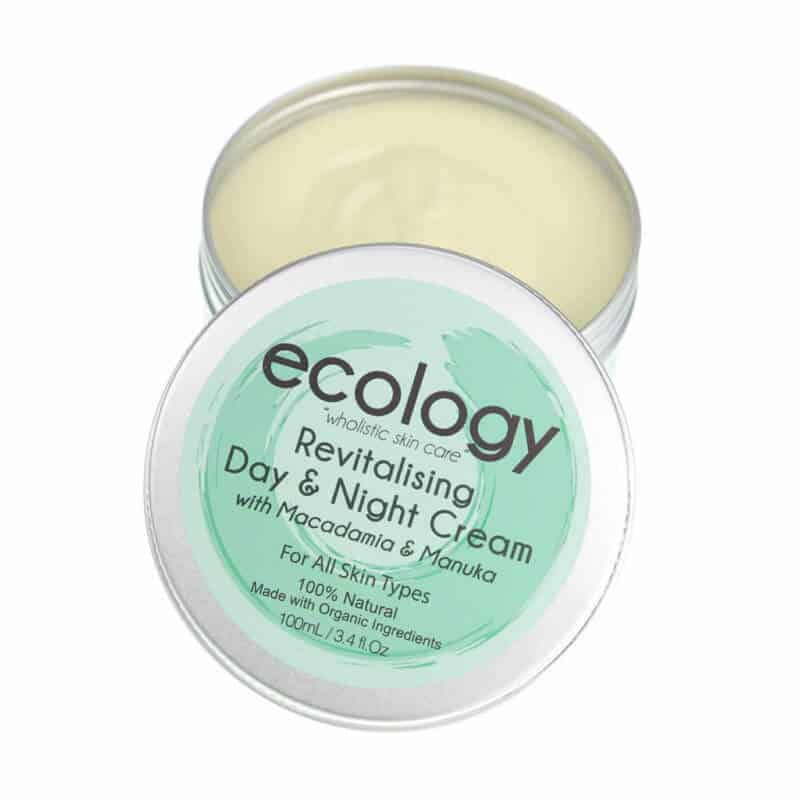 Revitalising Day and Night Cream with Macadamia & Manuka Ecology Skincare
