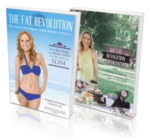 The Fat Revolution and The Fat Revolution Cookbook by Christine Cronau