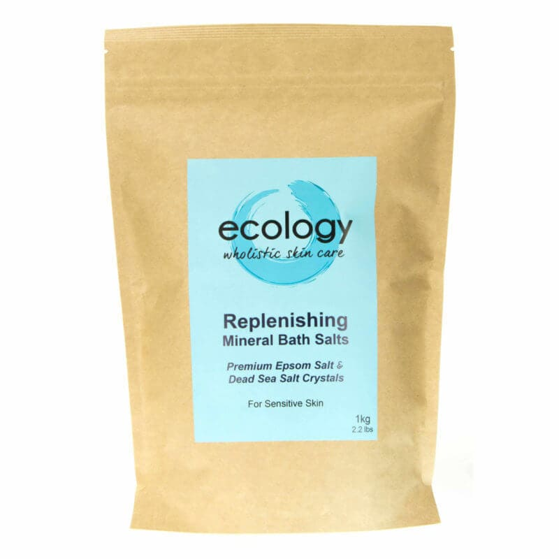 1kg Replenishing Mineral Bath Salts Ecology Skincare