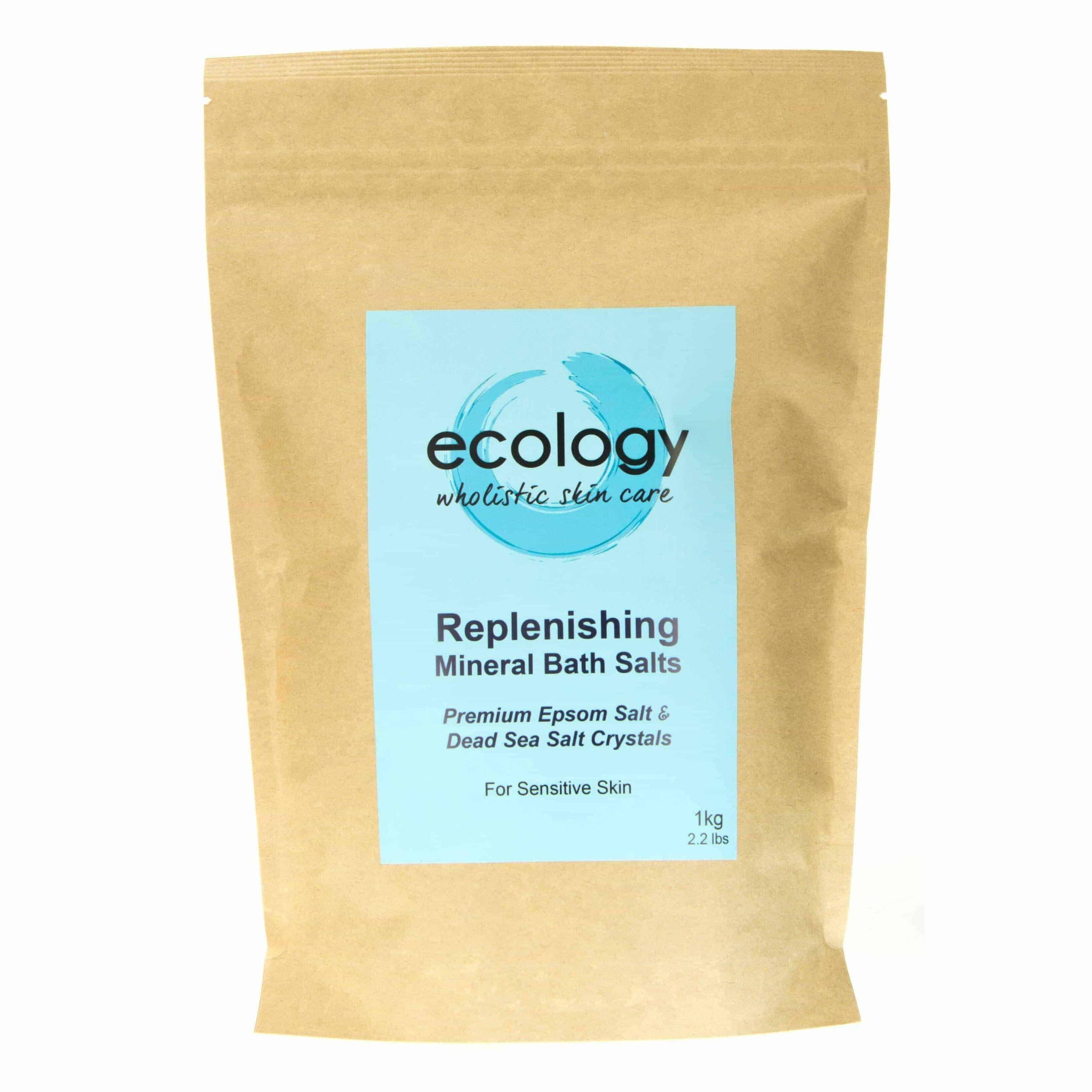 1kg Replenishing Mineral Bath Salts Ecology Skincare